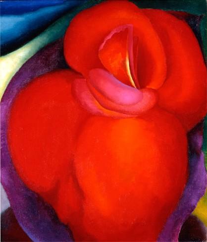 Red Flower 1919, Georgia O'Keefe